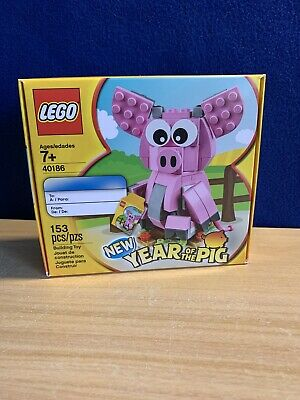 $18.49 • Buy Lego 40186 Chinese New Year Of The Pig New 2018 Special Edition -ships Fast