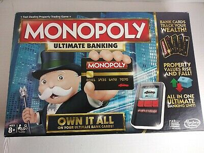 $59.50 • Buy Monopoly Hasbro Ultimate Banking Board Game Pre-owned Pristine Excellent Cond