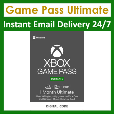 $ CDN5.31 • Buy Xbox Live 1 Month Gold & Game Pass Ultimate Membership (2x 14 Day Pass)