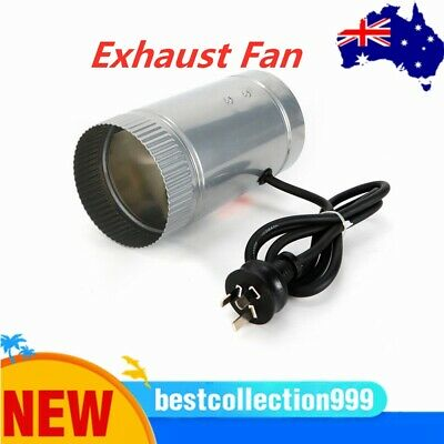 AU37 • Buy 4  6  Inch Inline Duct Booster Exhaust Fan Ventilation Air Blower HOT SALE