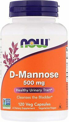 AU39.90 • Buy Now Foods D-Mannose 500mg 120 Veg Caps Urinary Tract Health UTI
