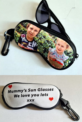 Glasses Pouch/case Custom Made With Your Own Photo  • 11.99£
