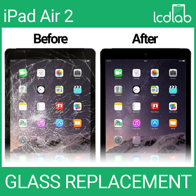 £59.95 • Buy Apple IPad Air 2 A1566 A1567 LCD/Cracked Glass Screen Repair Replacement Service