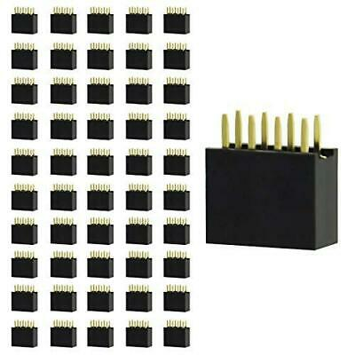 $11.09 • Buy Gikfun 2.54mm Pitch 2X4 8 Pin Female Double Row Straight Header PCB Connector