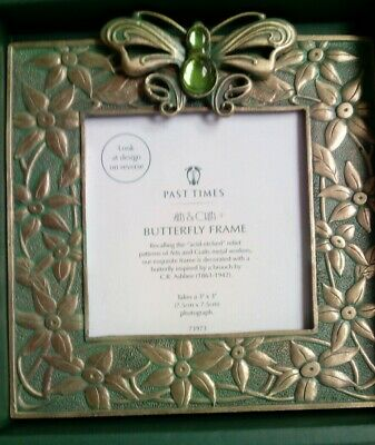 Past Times Arts & Crafts Butterfly Photo Frame • 2.20£