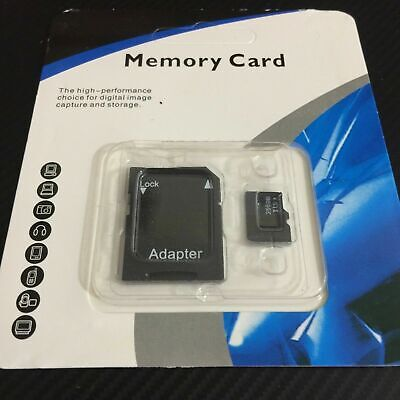 $15.95 • Buy Mini SD Card 32GB 64GB 128GB 256GB 512GB Class 10 Micro Sd + Free Adapter LOT