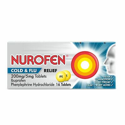 Nurafen Day And Night Cold Flu Tablets - 16 • 8.99£