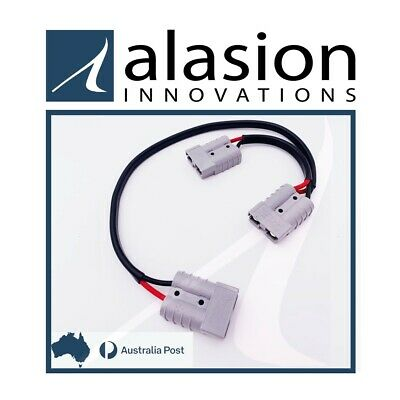 AU20 • Buy 0.5 Metre 50 Amp Anderson Plug Double Adaptor Extension Lead 0M3