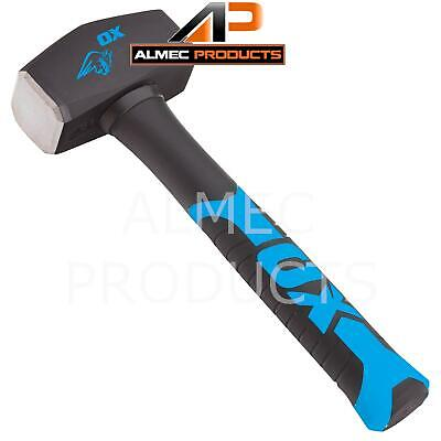£11.99 • Buy OX Trade 2.5lb Lump Hammer Club Solid Construction Site Hand Tools OX-T081302