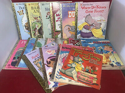 £14.20 • Buy VTG Little Golden Book Lot Of 17 Books
