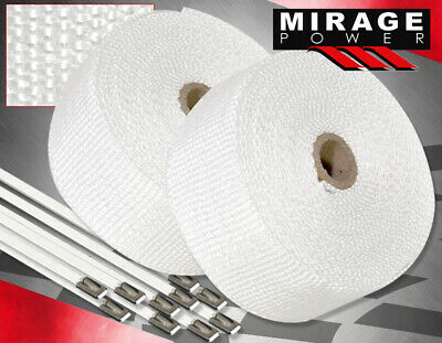 $ CDN46.23 • Buy 360  Intake Induction Piping Heat Wrap Shield Cover Insulation Reduction White