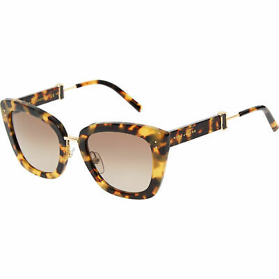 MARC JACOBS Cat Eye Sunglasses, Brown Tortoiseshell /Gold, With Case • 39.99£