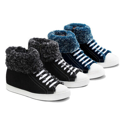 AU56.09 • Buy 【EXTRA 30%OFF】Womens Ladies UGG Boots Lace Up & Zipper Sheepskin Wool Sneaker