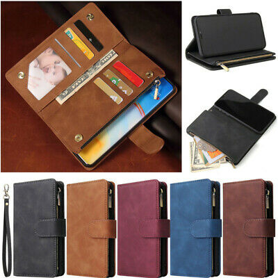 AU18 • Buy Deluxe Wallet Flip Leather Case For SONY Xperia XA2 Ultra XZ1 XZ3 XZ2 Compact