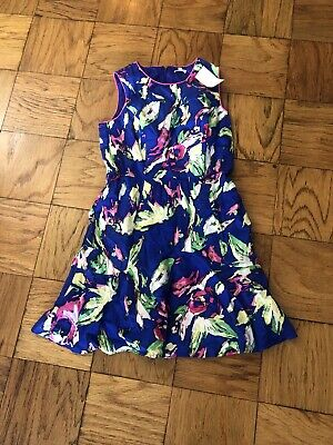 $15 • Buy Shoshanna Floral Blue Pink And Green Dress Size 12