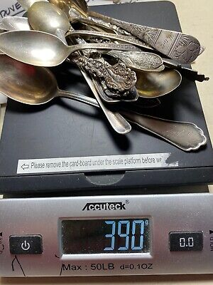 $ CDN270.79 • Buy 390 GRAMS Sterling Silver Clean Scrap Lot