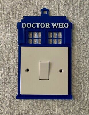 Doctor Who Light Switch Surround - Bedroom Light • 7.95£