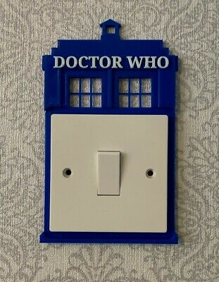 £7.95 • Buy Doctor Who Light Switch Surround - Bedroom Light