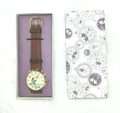 $24.99 • Buy Disney Pocahontas Challenge Watch Brown Leather Band Fossil DS 260 NEVER WORN