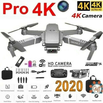 AU77.49 • Buy 720P/1080P/4K Drone X Pro With HD Camera Drones WiFi FPV RC Four Axis Quadcopter