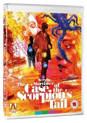 THE CASE OF THE SCORPION'S TAIL Arrow Video Blu-ray, NEW & SEALED Sergio Martino • 12.99£