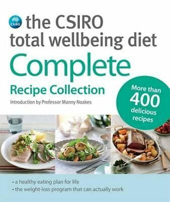 AU65.95 • Buy The CSIRO Total Wellbeing Diet Best Seller Cook Books Cooking At Home Bake