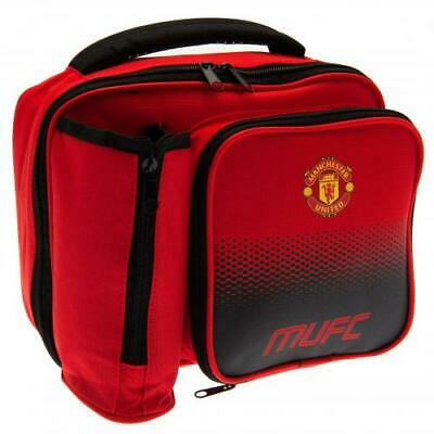 Official MANCHESTER UNITED FC Lunch BAG School Office Travel MUFC Man Utd Gift • 16.99£