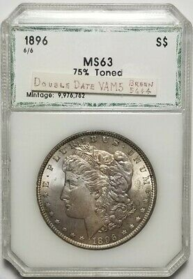 $11.50 • Buy 1896 6/6 Morgan Silver Dollar MS