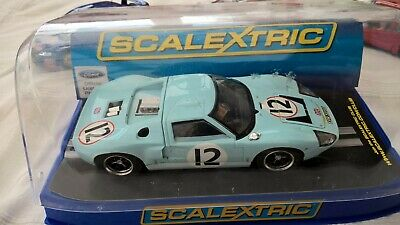 Scalextric Ford GT40 C3533 1966 Le MansSlot Car V/G Boxed Tested & Working 1/32  • 33£