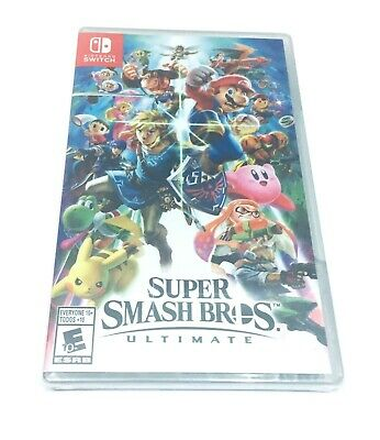 $59.99 • Buy Super Smash Bros Ultimate Nintendo Switch NSW Brand New Factory Sealed Brand New