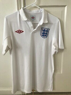 $0.01 • Buy Umbro England Soccer Jersey - White Authentic S 38 Nike