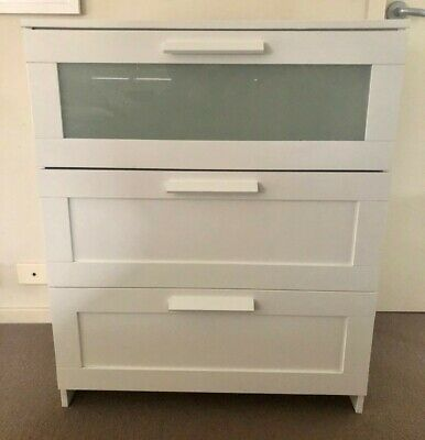 AU50 • Buy Ikea Brimes White Chest Of 3 Drawers