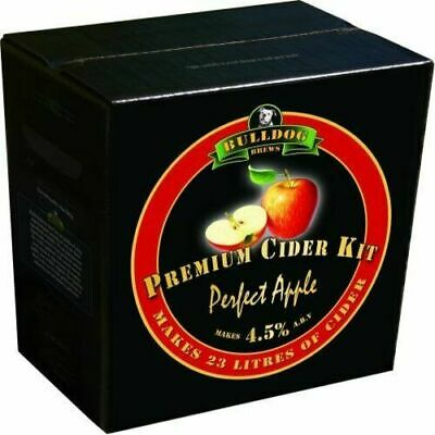 Bulldog Brew Cider Kit - PERFECT APPLE -makes 23L Premium Homebrew Cider(EPHB) • 29.95£