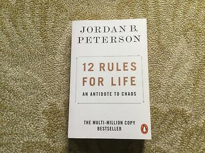 AU15 • Buy 12 Rules For Life, An Antidote To Chaos, Jordan B. Peterson Puffin Pb