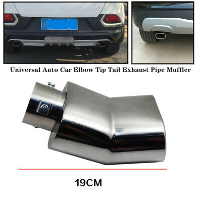 $ CDN49.01 • Buy 63MM Universal Car Elbow Tip Tail Exhaust Pipe Muffler Silencing Stainless Steel