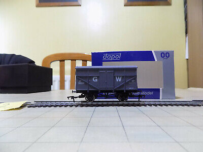 00 Gauge GWR Covered Fruit Wagon In New Condition In Grey • 2.19£