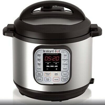 $59.99 • Buy Instant Pot Duo60 6 QT 7-in-1 Multi-use Programmable Pressure Cooker Slow Cook