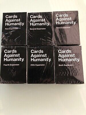 AU39.99 • Buy Cards Against Humanity 1 2 3 4 5 6 All Expansions NEW