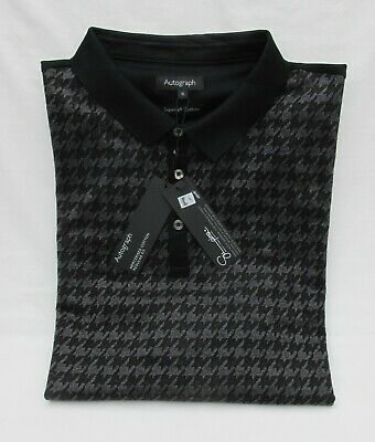 Men's Marks And Spencer Autograph Charcoal Mix Supima Cotton Polo Shirt Size Xl • 16.99£