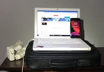 $ CDN845.84 • Buy Apple Lot: Macbook + Iphone 7 + Leather Laptop Briefcase + (4) Magsafe Adapters