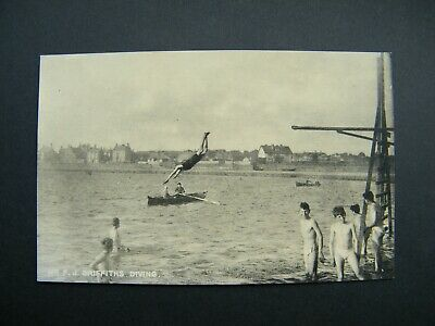 £1 • Buy Early PC Mostyn House School, Parkgate, Cheshire. Mr F.J.Griffiths Diving.