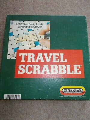 Spears Games - TRAVEL SCRABBLE Game - Complete • 3.99£