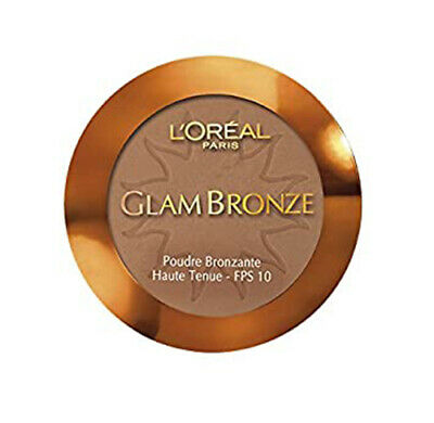 L'Oréal Glam Bronze Bronzing Powder Compact 3 Shades Available • 4.99£