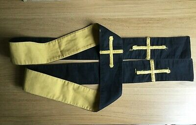 Stole Revervsible Chasuble Vestment Church Gothic Priest Catholic Robe Christian • 9£