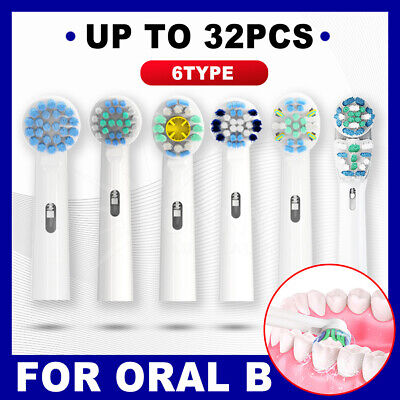 AU4.59 • Buy Replacement Toothbrush Electric Brush Heads For Oral B Braun Models Series