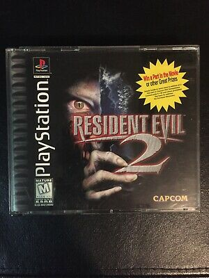 $12.50 • Buy Resident Evil 2 PS1 2 Disc 1998