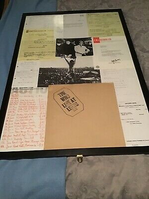 THE WHO Live At Leeds LP 1970 TRACK 1st + INSERTS! And Record. All In Frame.loo • 118£