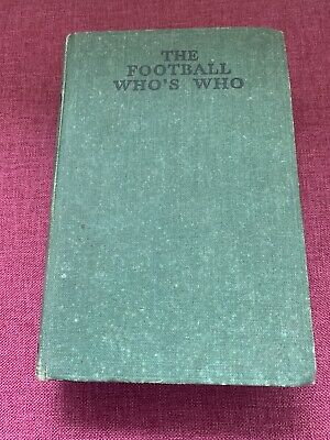 Frank Johnston The Football Who's Who 1st Edition 1935 • 20£