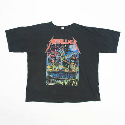 $ CDN67.65 • Buy Vintage Metallica Bootleg T Shirt Tee XL