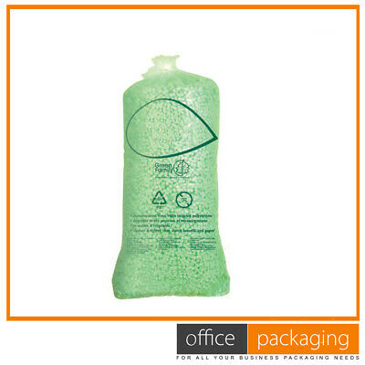 £84.54 • Buy Polystyrene 8 Shape Expanded Green Loose Fill Packing Peanuts 45 Cubic Ft